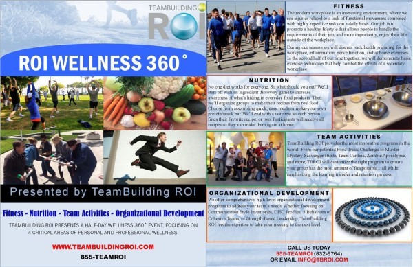 ROI Wellness 360 Flyer