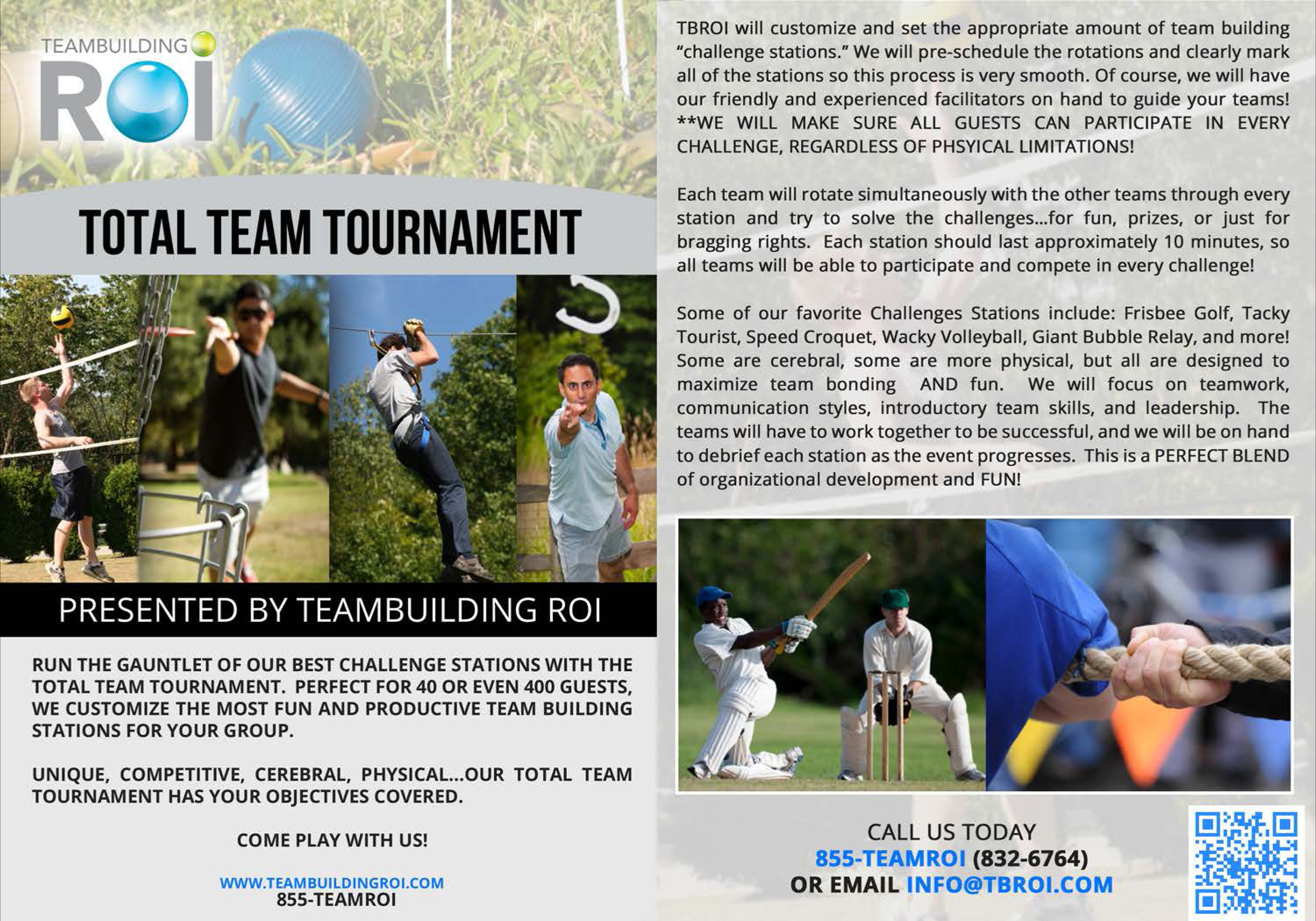 Team Building ROI | Bay Area Team Building and Corporate Events